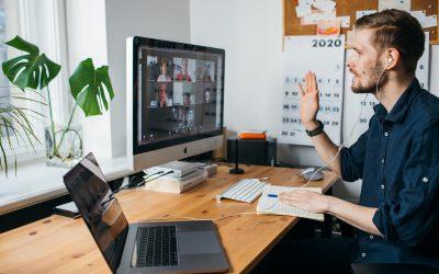 Relatório da Microsoft de tendências sobre trabalho remoto.