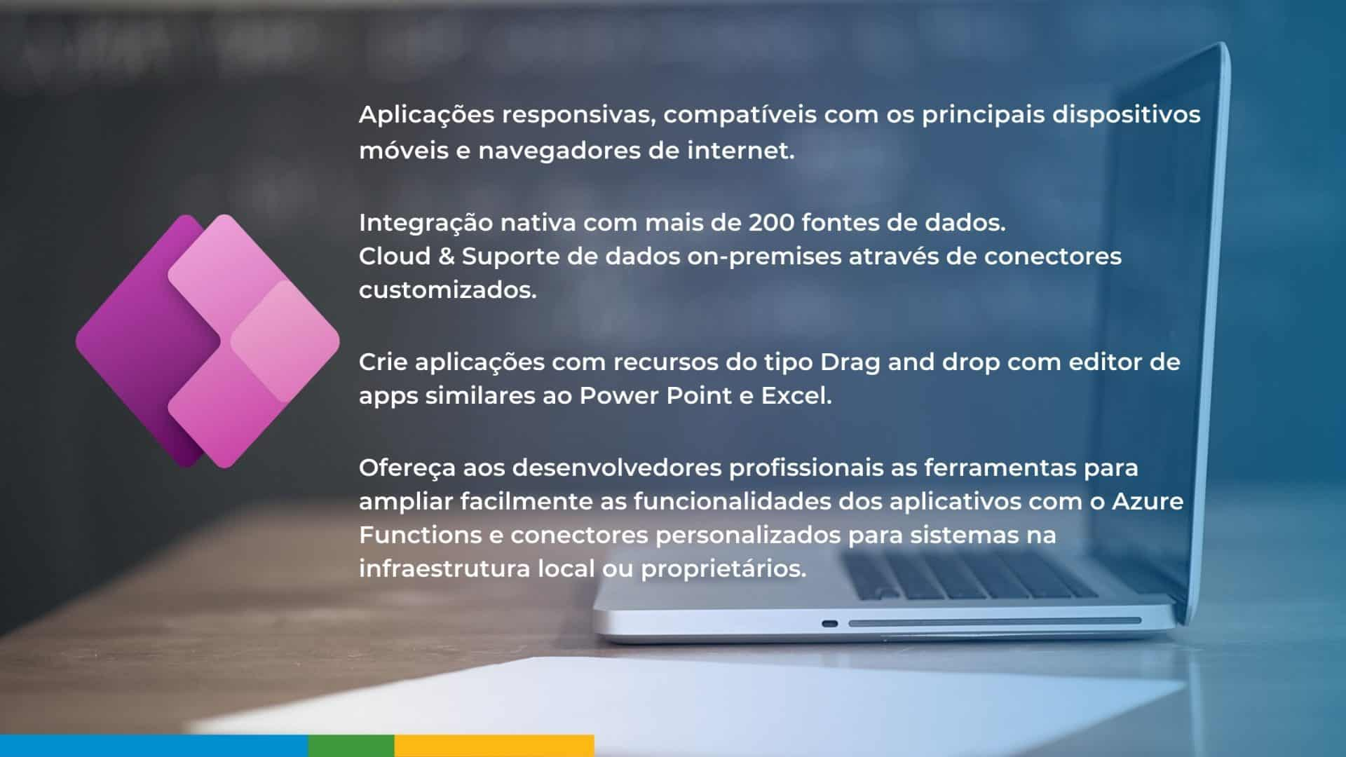 Funcionalidades do Power Apps